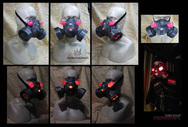 Gas Mask for Lord Scuzz by MissRaptor