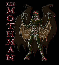 Mothman by AndrewDeFelice