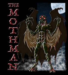 Mothman II by AndrewDeFelice