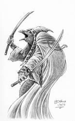 Tengu Samurai II by AndrewDeFelice