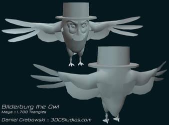 Bilderburg the Owl :: Model by BigGrabowski