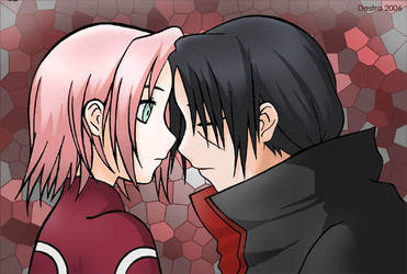 Itachi and Sakura by ymira