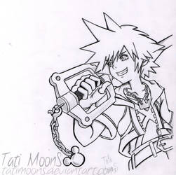 Sora 3D Dream Drop Distance ( Black and White ) by TatiMoonS