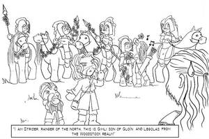 Legolas of Woodstock by greenapplefreak