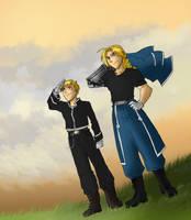 The Alchemist Brothers by greenapplefreak