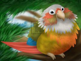 My Cute Little Bird by LittleLambCreations