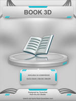 Book 3D by Tooschee