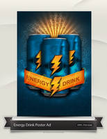 Energy Drink Poster by Tooschee