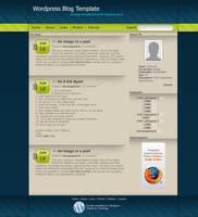 Wordpress Template by Tooschee