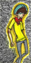 Watercolor Boy by August-Blauvelt