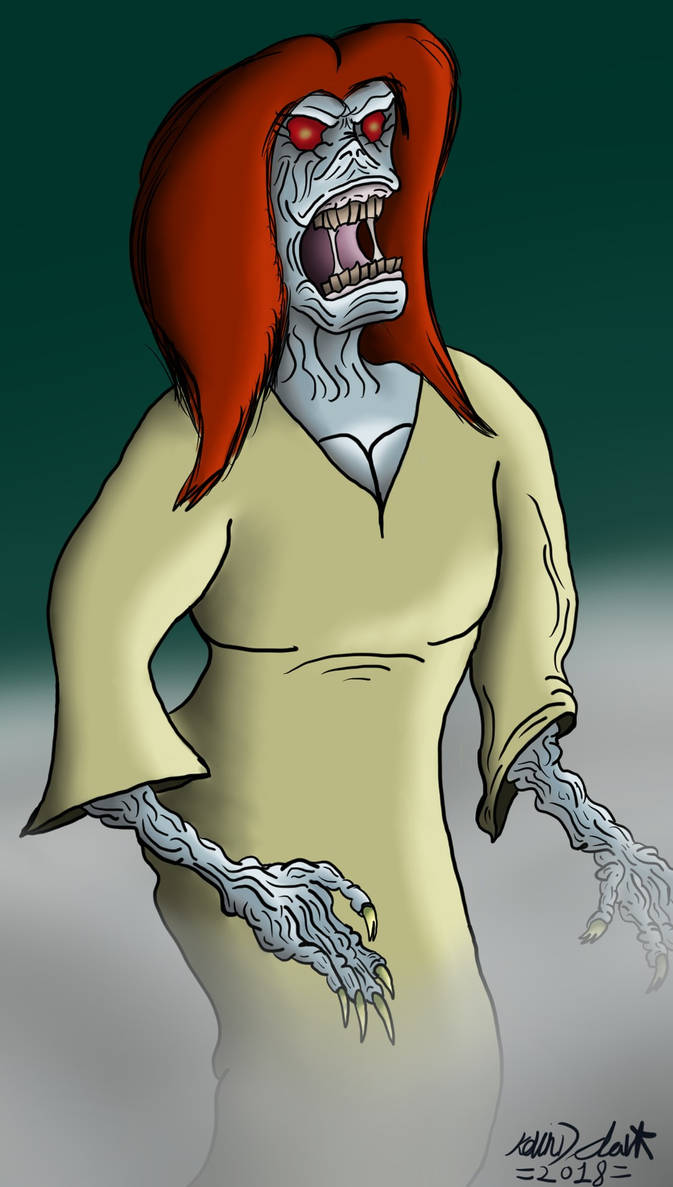 Banshee - Monsterworld by KingKevzilla