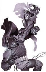 Dark Knight Returns- Marker by ChristopherStevens