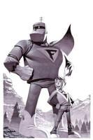 Frankenstein Jr- Marker Illo by ChristopherStevens