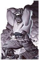 Incredible Hulk- Marker Illo by ChristopherStevens