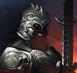 MtG Online- Dakkon Blackblade by ChristopherStevens