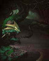 Darkstalkers Tribute Pin-Up by ChristopherStevens