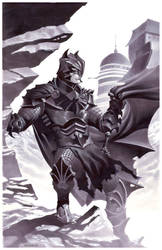 Medieval Fantasy Batman by ChristopherStevens