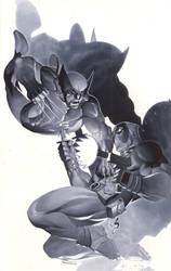 Wolverine vs Deadpool by ChristopherStevens