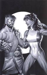Hercules and She Hulk by ChristopherStevens