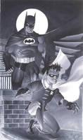 Batman and Robin by ChristopherStevens
