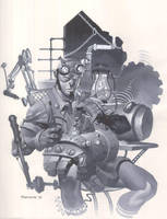 Steampunk Hellboy by ChristopherStevens