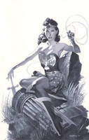 Golden Age Wonder Woman by ChristopherStevens