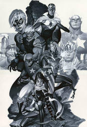 Young Avengers by ChristopherStevens