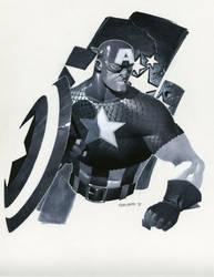 Cap bust by ChristopherStevens