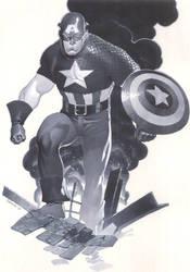 Classic Captain America by ChristopherStevens
