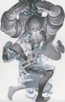 Colossus vs Juggs by ChristopherStevens