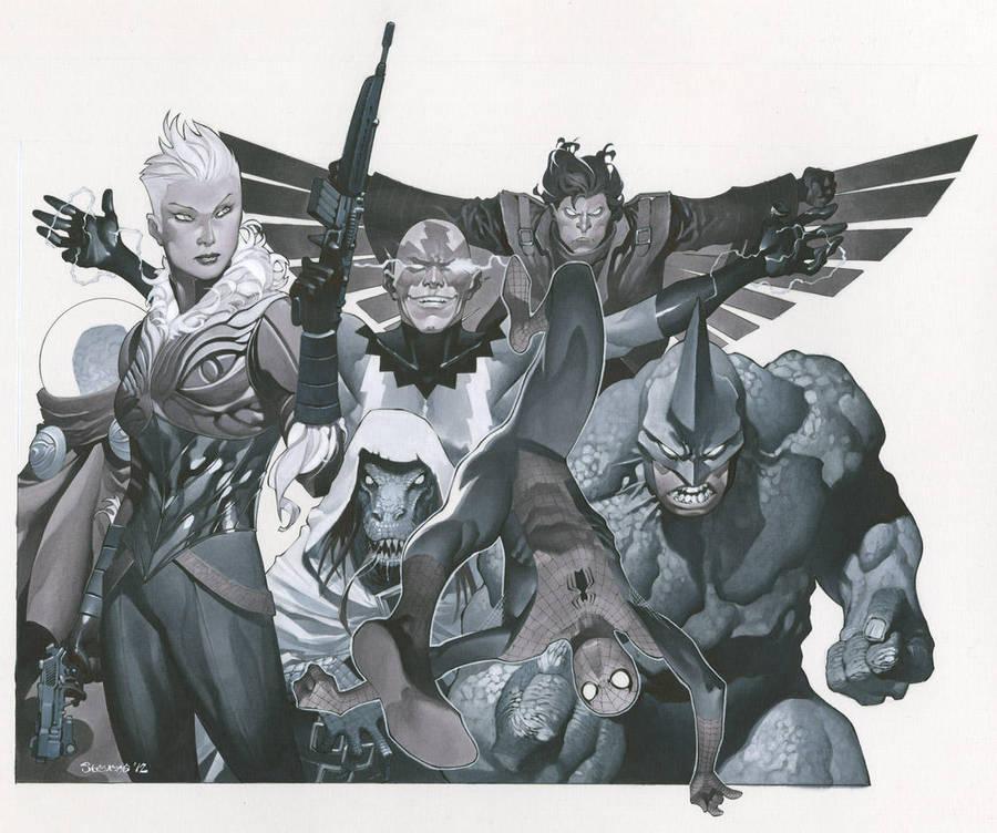 Spidey's villains by ChristopherStevens