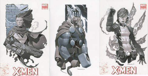 Sketch Covers 8 Thru 10 by ChristopherStevens