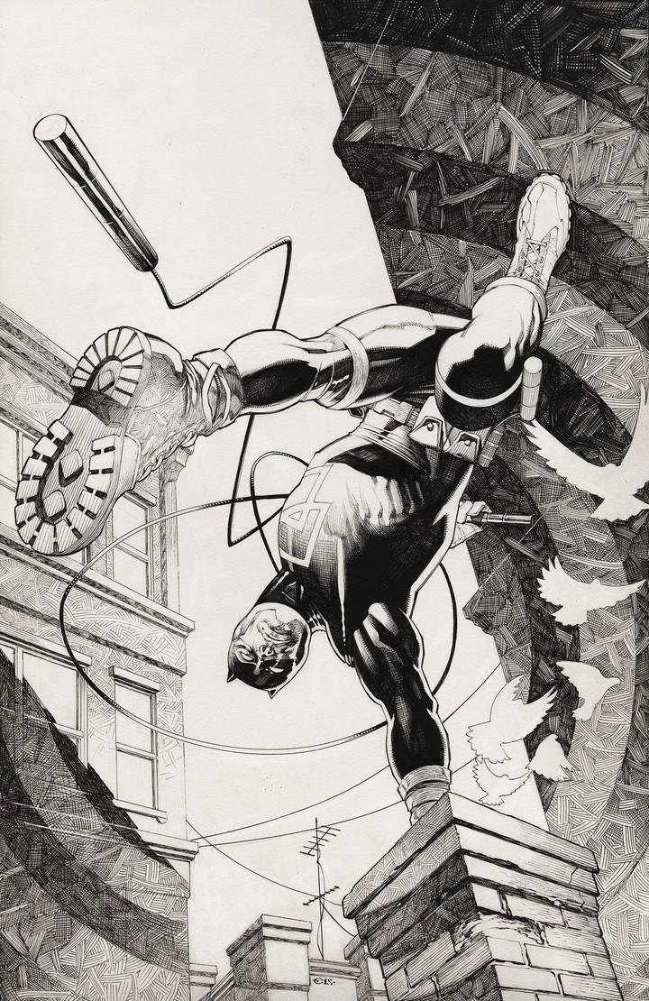 Daredevil cover by ChristopherStevens