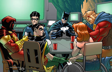 Batman Card Game by ChristopherStevens
