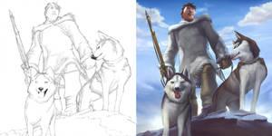 Inuit - Moon Spirit by ChristopherStevens