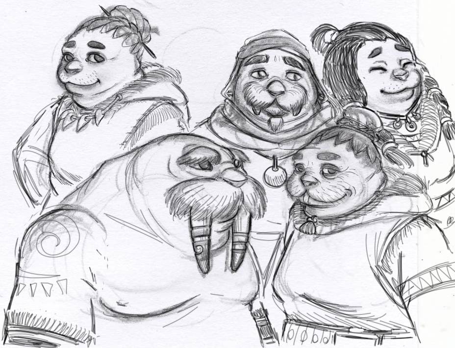 Kaluaks sketch by Gurdim