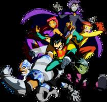 Teen Titans by ArtToroArtServices
