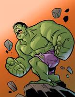 Hulk Smash! by ArtToroArtServices
