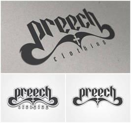 preech clothing - logo by xtianares