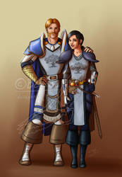 April Request: Marcel and Louianna by Berende