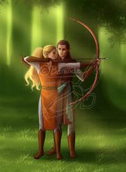 BG: Archery Redraw by Berende