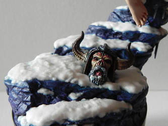 Spawn Goddess Llyra detail by georgesmassilia