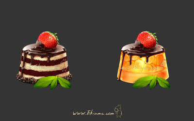 Icons cake by Ekimma