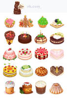 Gift for vk.com Cake by Ekimma