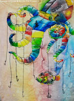 Prismatic Octopus Vulgaris by CourtneysConcepts