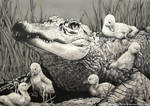 Gator Gaggle by CourtneysConcepts