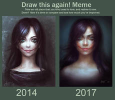 Draw this again, 2014 2017 by Leffsha