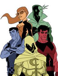 My Five Avengers by Gaston25