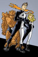 PR Fantastic Four redesign by Gaston25