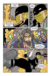 Planet AFL Fight 1 Page 3 by Gaston25